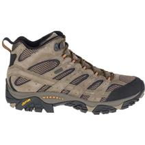 Merrell Moab 2 Mid Waterproof Men's Hiking Shoes - Walnut
