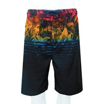 Burnside Flower Print Swim Shorts