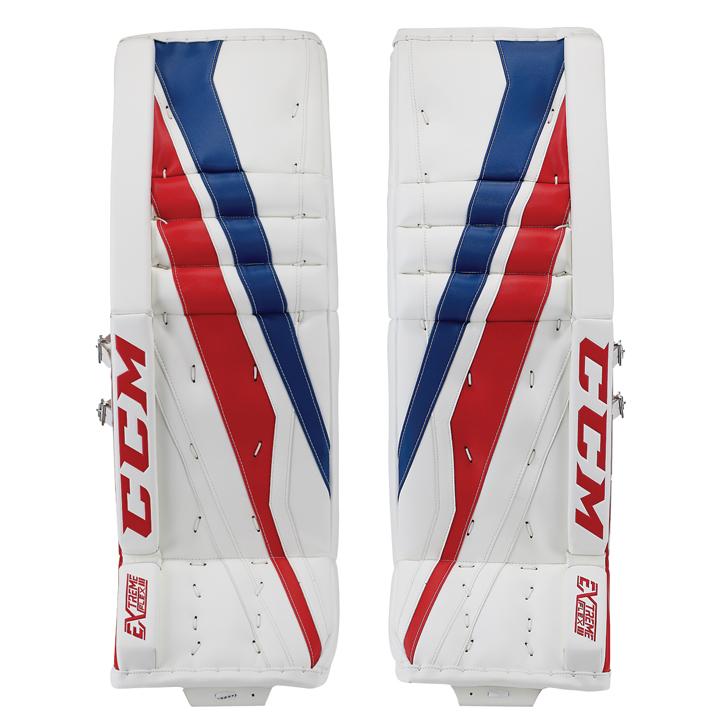 99dc226e447 CCM Extreme Flex III Pro Senior Goalie Pads