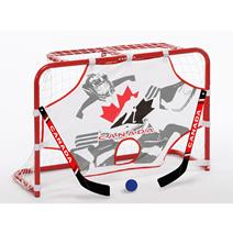 Hockey Canada Mini 32 Inch Hockey Net Set With 2 Sticks,Ball And Target