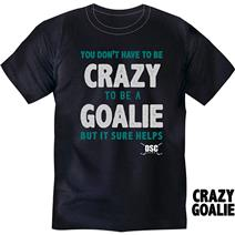 DSC Hockey Crazy Goalie Men's T-Shirt