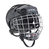 CCM Fitlite FL40 Junior Hockey Helmet Combo