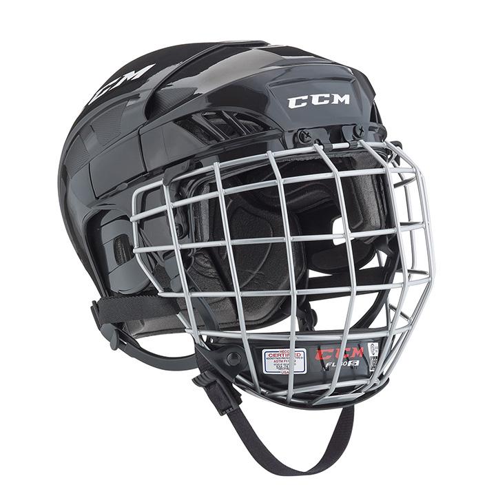 938db9cb7f7 CCM Fitlite FL40 Senior Hockey Helmet Combo