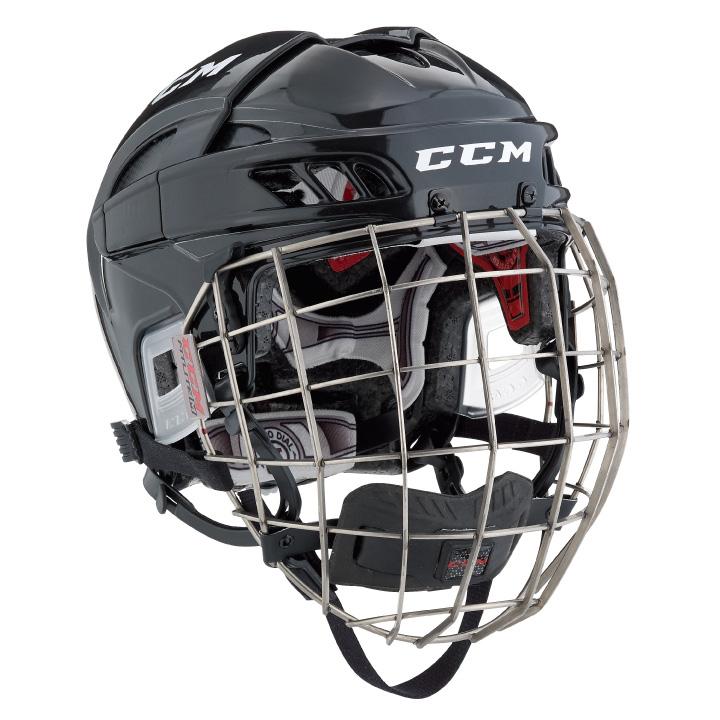 7dcb6433ae6 CCM Fitlite FL60 Senior Hockey Helmet Combo
