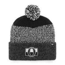 '47 NHL Black Static Cuff Knit Hat