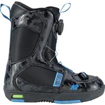 K2 Mini Turbo Snowboard Boots - Black