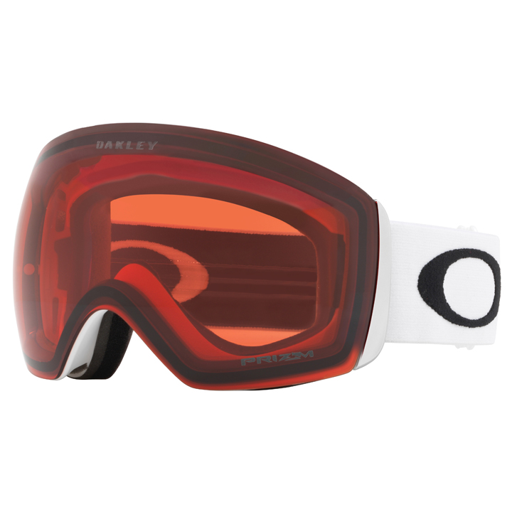 09b9f2945eceb Oakley Flight Deck Snow Goggles - Matte White With Prizm Rose ...