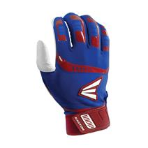 Easton Walk Off Baseball Batting Gloves - Royal / Red
