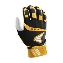 Easton Walk Off Baseball Batting Gloves - Black / Gold