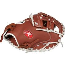 "Rawlings R9 33"" Softball Catcher's Mitt"