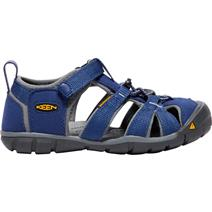 Keen Seacamp II CNX Youth Sandals - Blue Depths/Gargoyle