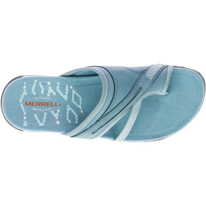 e9a3bd31821e Merrell Terran Post II Women s Sandals - Blue Smoke