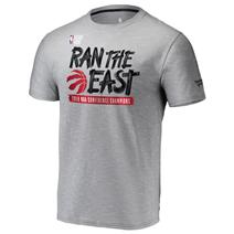 Fanatics We Ran The East Conference Champs Tee - Toronto Raptors