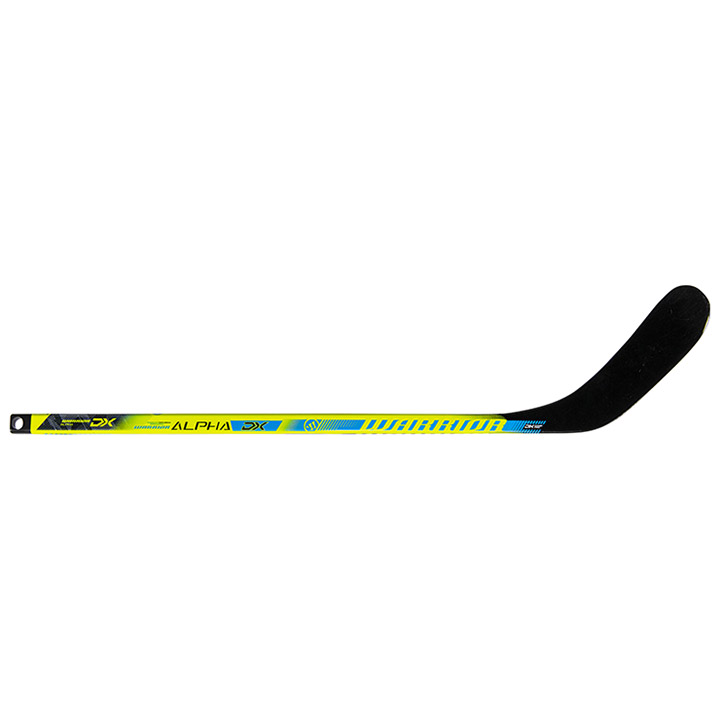 Black//Blue WARRIOR Alpha DX Mini Composite Hockey Stick
