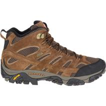 Merrell Moab 2 Mid Men's Waterproof Hiking Boots (wide) - Earth