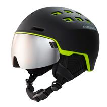 Head Radar Ski Helmet - Black/Lime