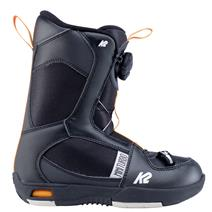K2 Mini Turbo Youth Snowboard Boots - Black