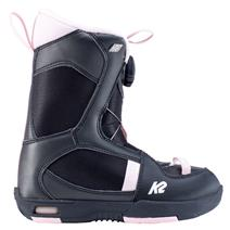 K2 Lil Kat Youth Snowboard Boots - Black