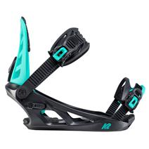 K2 Vandal Boys' Snowboard Bindings - Black/Blue