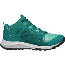 Keen Explore Women's Mid Waterproof Hiking Shoes - Storm/Marine Green