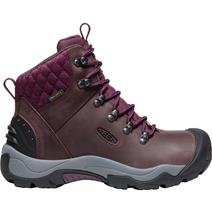 Keen Revel III Women's Hiking Boots - Peppercorn/Eggplant