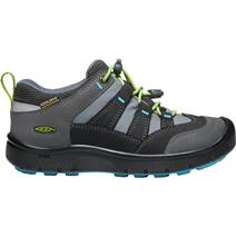 Keen Hikeport Youth Waterproof Hiking Shoes - Magnet/Greenery