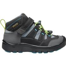 Keen Hikeport Childrens' Mid Waterproof Hiking Shoes - Magnet/Greenery