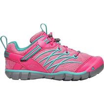 Keen Chandler CNX Youth Shoes - Bright Pink/Lake Green