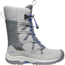 Keen Hoodoo Youth Waterproof Boots - Paloma/Amparo Blue