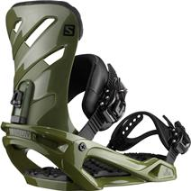 Salomon Rhythm Snowboard Bindings - Army Green