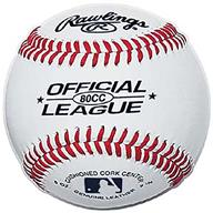 Rawlings Official Baseball 80CC Canada Baseball