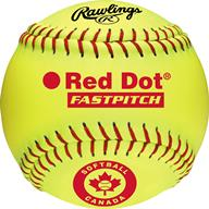 "Rawlings Red Dot 12"" Fastpitch Ball"