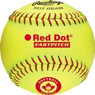 "Rawlings Red Dot 11"" Fastpitch Ball"