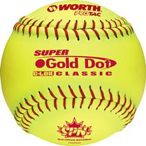"Worth SPN Gold Dot 12"" Softball"