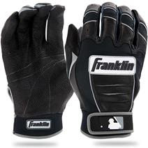 Franklin CFX Pro Baseball Batting Gloves - Black/Black