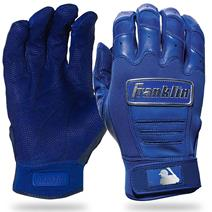 Franklin CFX Pro Chrome Baseball Batting Gloves - Royal