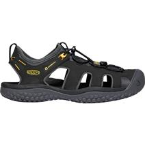 Keen Solr Men's Sandals - Black/Gold