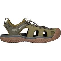 Keen Solr Men's Sandals - Dark Olive/Taupe