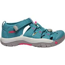 Keen Newport H2 Youth Sandals - Lagoon/Brite Pink