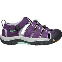 Keen Newport H2 Youth Sandals - Purple Pennant/Lavender Gray