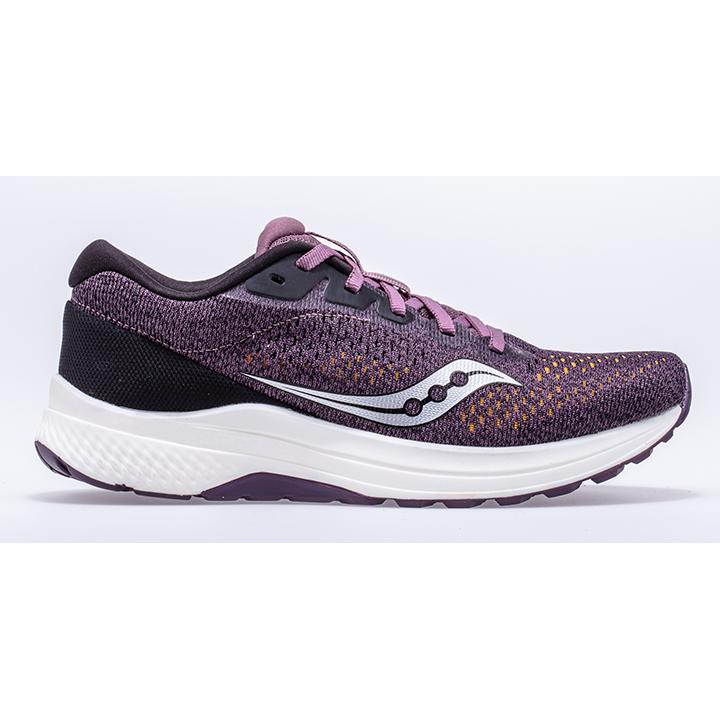 Saucony Damen Clarion 2 Plum//Black Leichtathletik-Schuh