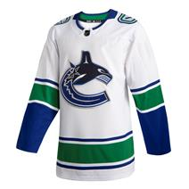 Adidas NHL Authentic Away Wordmark Jersey - Vancouver