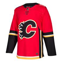 Adidas NHL Authentic Home Wordmark Jersey - Calgary