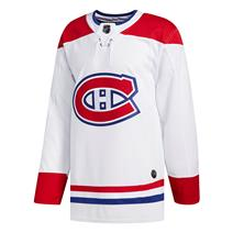 Adidas NHL Authentic Away Wordmark Jersey - Montreal