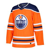 Adidas NHL Authentic Home Wordmark Jersey - Edmonton