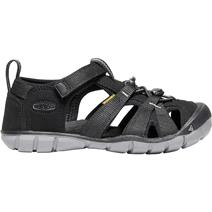 Keen Seacamp II CNX Youth Sandals - Black/Steel Grey
