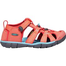 Keen Seacamp II CNX Youth Sandals - Coral