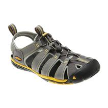 Keen Clearwater CNX Men's Sandals - Gargoyle / Super Lemon